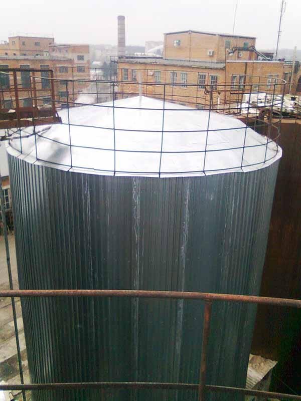0072 Теплоизоляция резервуаров