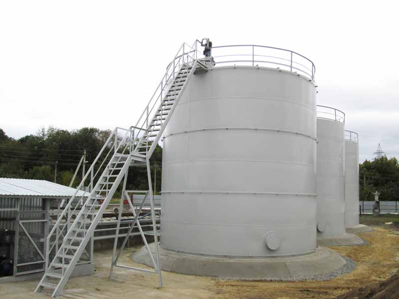 IMG 0050 Construction of the tank farm for liquid chemical fertilizers