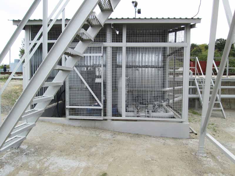 IMG 0051 База для хранения жидких минеральных удобрений