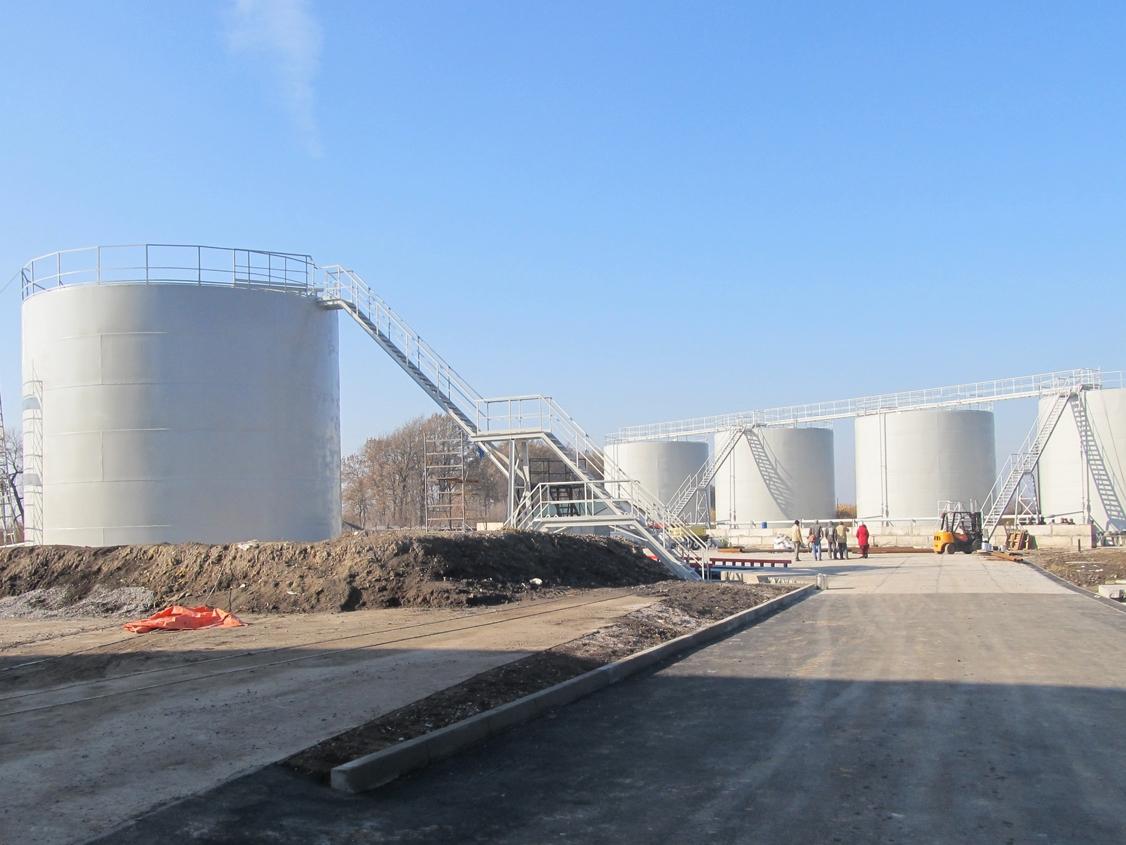 IMG 5880 База для хранения жидких минеральных удобрений