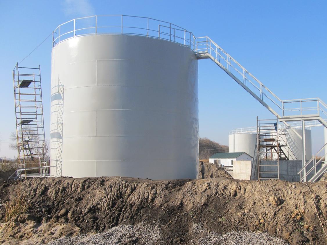 IMG 5883 База для хранения жидких минеральных удобрений