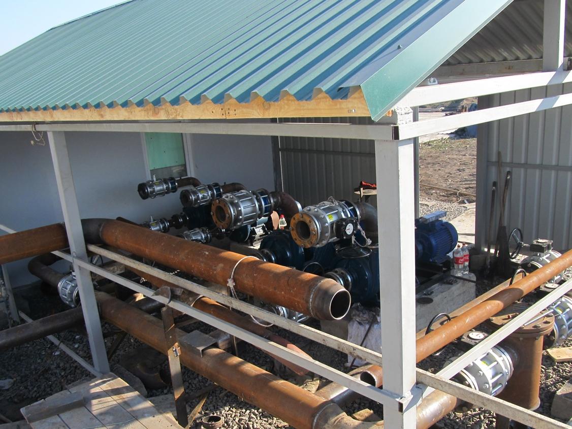 IMG 5893 База для хранения жидких минеральных удобрений