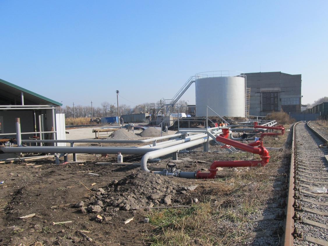 IMG 5900 База для хранения жидких минеральных удобрений