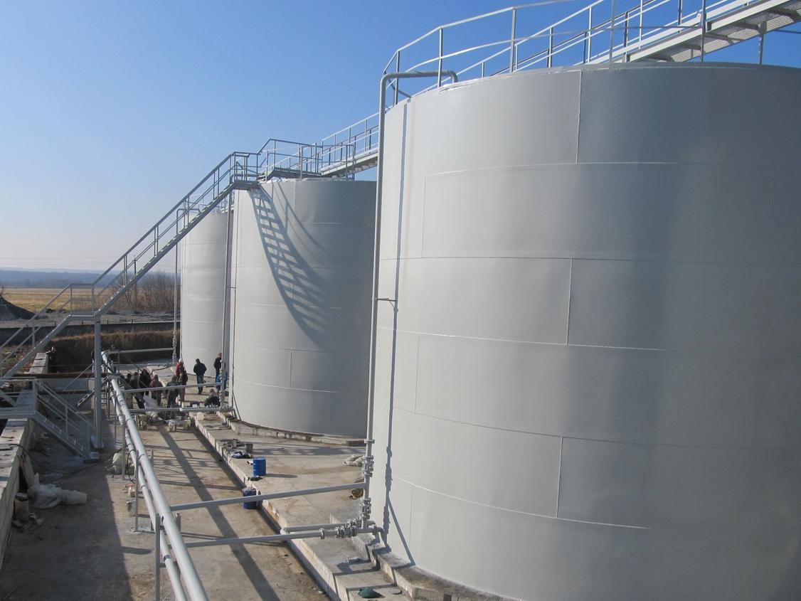 IMG 5907 База для хранения жидких минеральных удобрений
