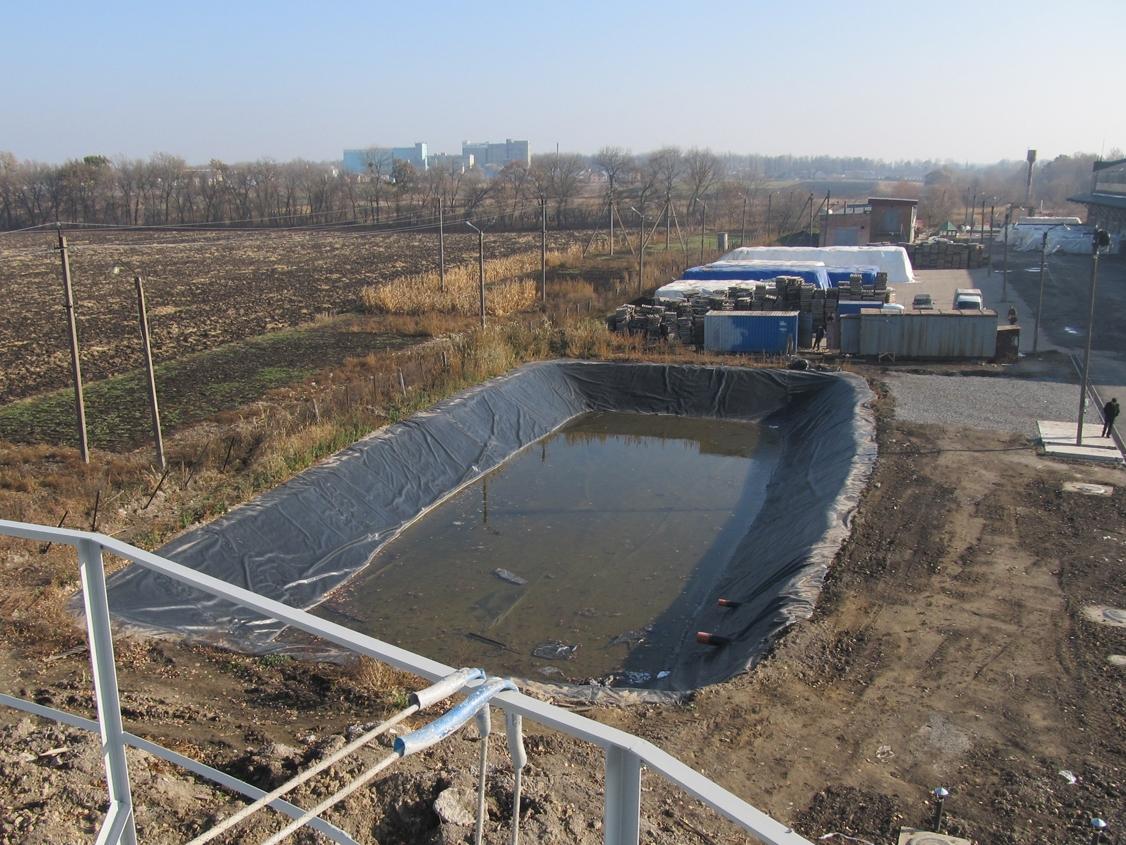 IMG 5913 База для хранения жидких минеральных удобрений