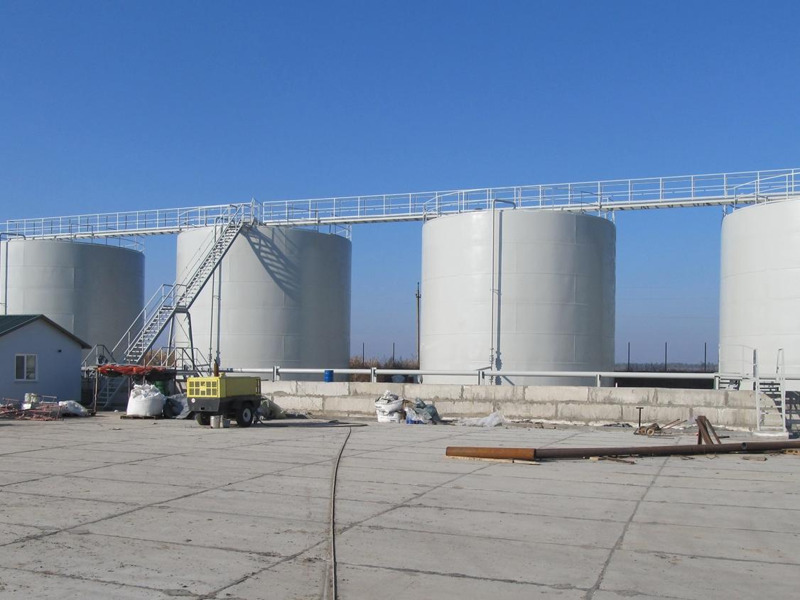 IMG 5923 База для хранения жидких минеральных удобрений