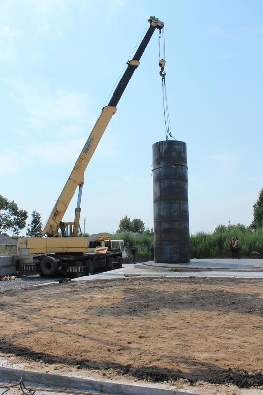 IMG 6345 База для хранения жидких минеральных удобрений