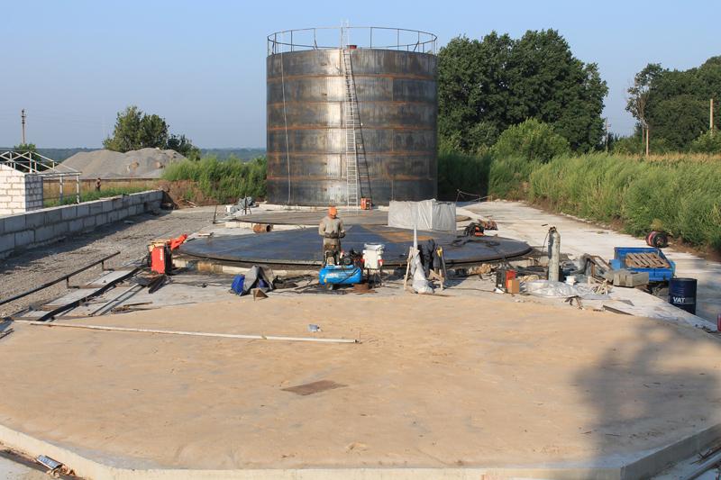 IMG 6369 База для хранения жидких минеральных удобрений