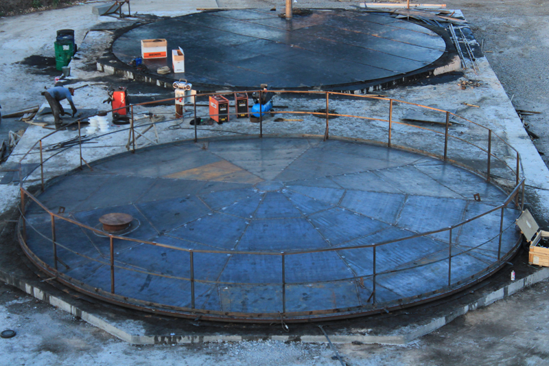 IMG 6391 База для хранения жидких минеральных удобрений