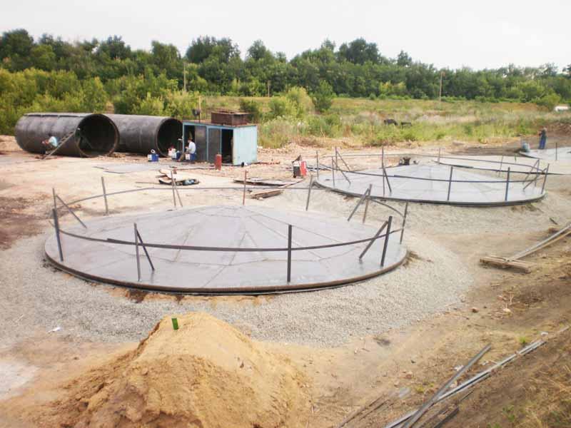 P3240147 База для хранения жидких минеральных удобрений