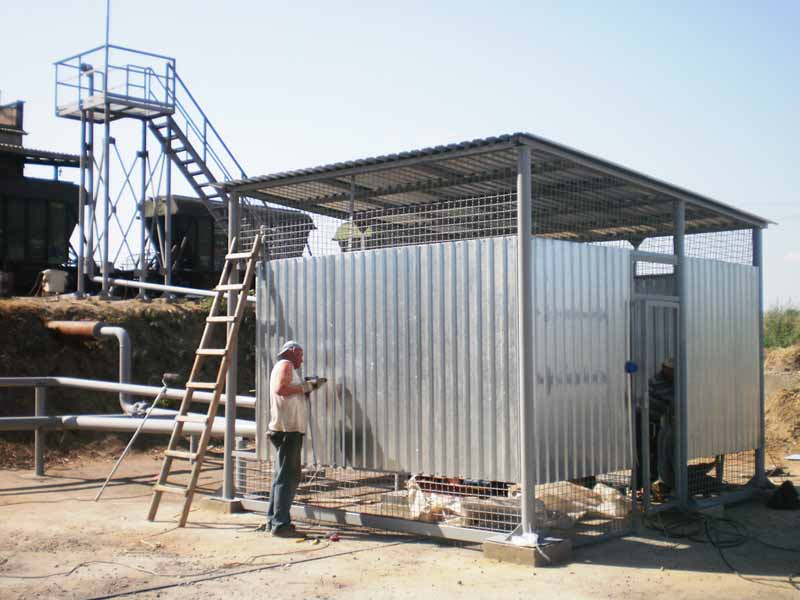 P4050205 База для хранения жидких минеральных удобрений