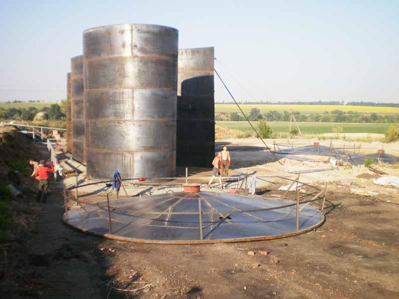 P4060213 База для хранения жидких минеральных удобрений