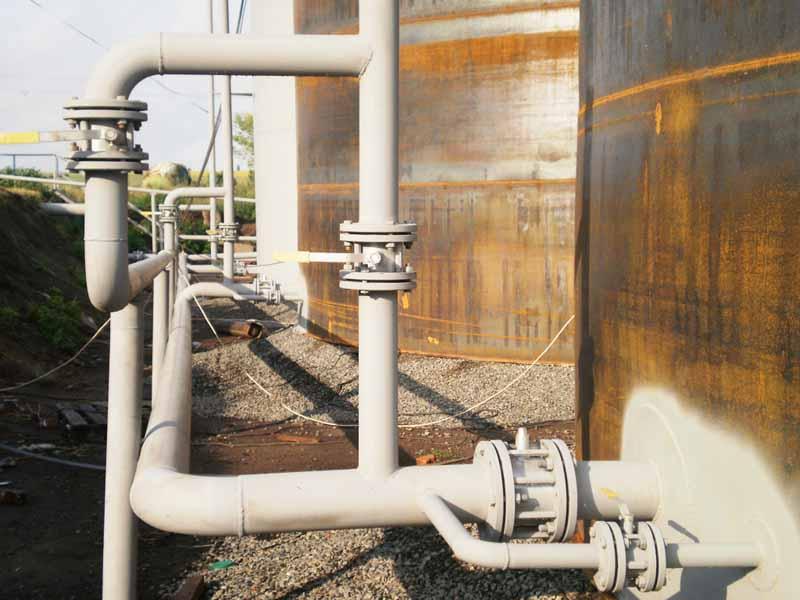 P4160234 База для хранения жидких минеральных удобрений