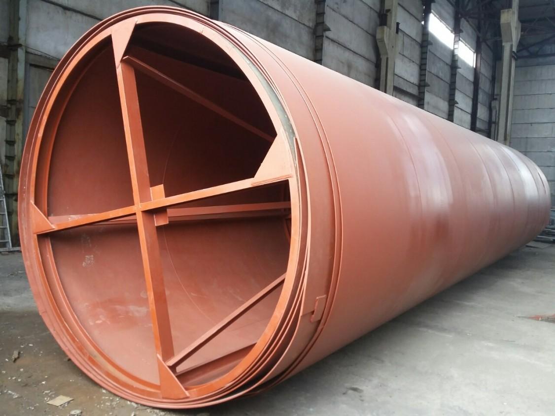 Изготовление стенки РВС-5000