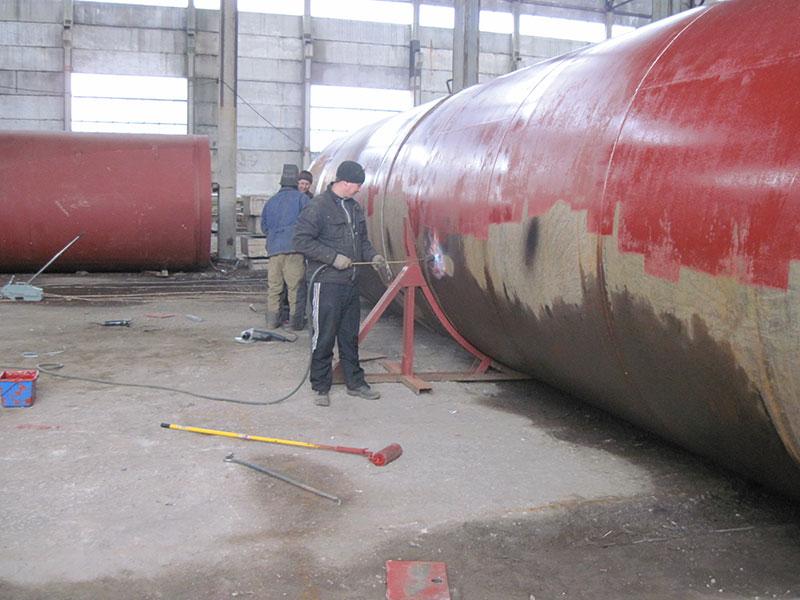 izgotovlenie i montazh rezervuarov v tadzhikistane foto Изготовление и монтаж резервуаров (Таджикистан)