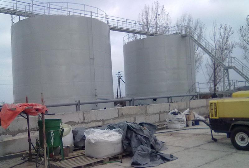 teploizolyatsiya rezervuarov v tadzhikistane foto Теплоизоляция резервуаров (Таджикистан)
