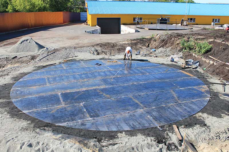 stroitelstvo rezervuarov v ukraine foto Строительство резервуаров (Украина)