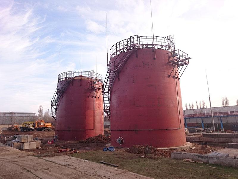 teploizolyatsiya rezervuarov v uzbekistane foto Теплоизоляция резервуаров (Узбекистан)
