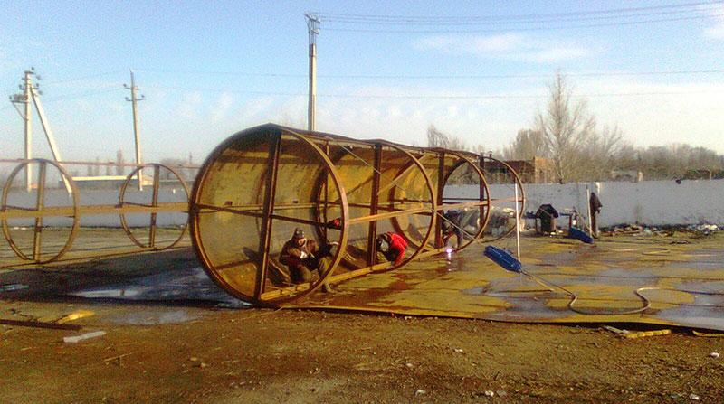 montazh rezervuarov v azerbajdzhane foto Монтаж резервуаров (Азербайджан)