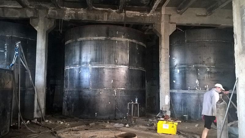 vosstanovlenie rezervuarov v ukraine foto Восстановление резервуаров (Украина)