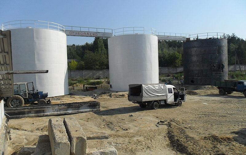 rezervuary dlya nefteproduktov v gruzii foto Резервуары для нефтепродуктов (Грузия)