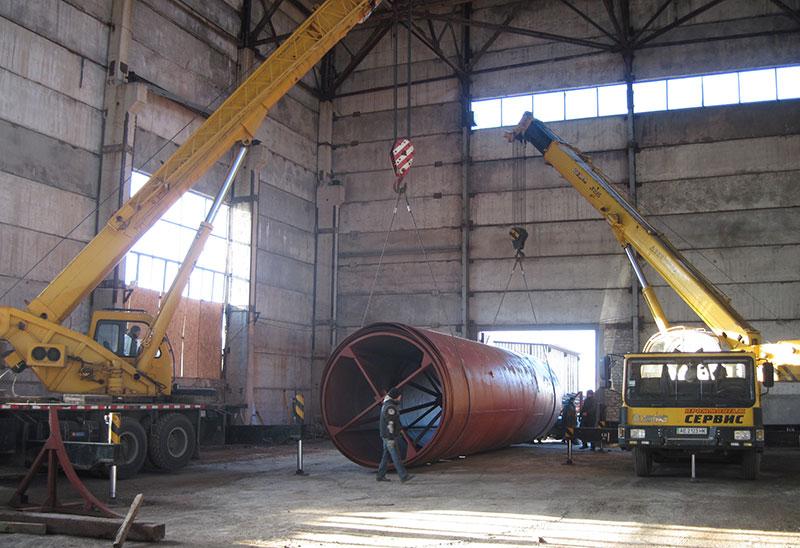 proizvodstvo vertikalnyh rezervuarov v armenii foto Производство вертикальных резервуаров (Армения)
