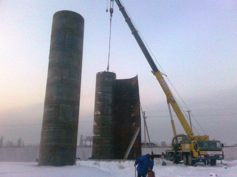 proizvodstvo vertikalnyh rezervuarov v belarusi foto Производство вертикальных резервуаров (Беларусь)