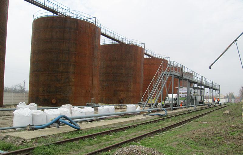 izgotovlenie rezervuarov dlya udobrenij foto Изготовление резервуаров для хранения удобрений