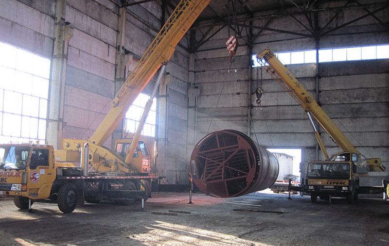 proizvodstvo rezervuarov dlya nefteproduktov foto Производство резервуаров для хранения нефтепродуктов