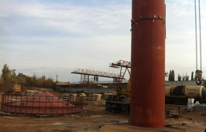 stroitelstvo rezervuarov dlya nefteproduktov foto Строительство резервуаров для хранения нефтепродуктов