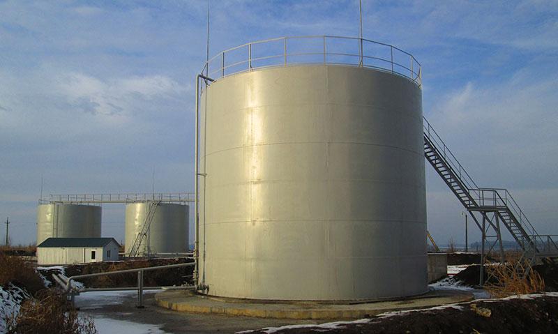stroitelstvo rezervuarov dlya udobrenij foto Строительство резервуаров для хранения удобрений