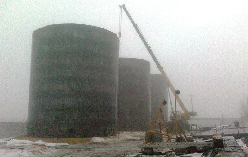 stroitelstvo rezervuarov dlya vody foto Строительство резервуаров для хранения воды