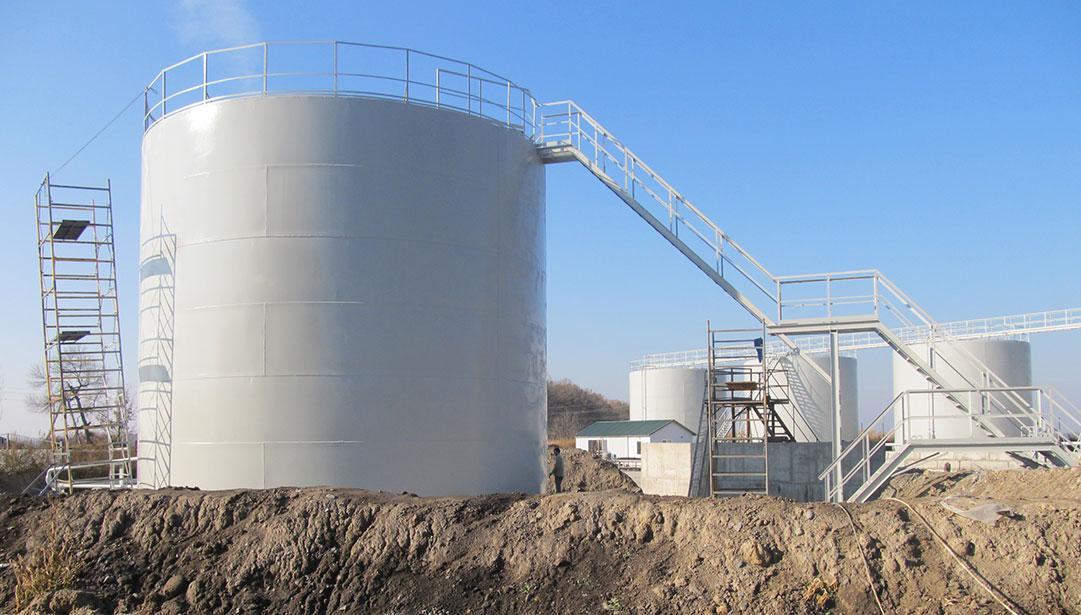 uvelichenie obema rezervuarov foto Увеличение объема существующих резервуаров
