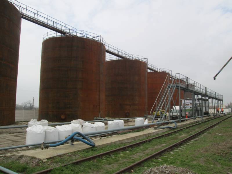 modernizatsiya rezervuarnyh parkov Модернизация резервуарных парков